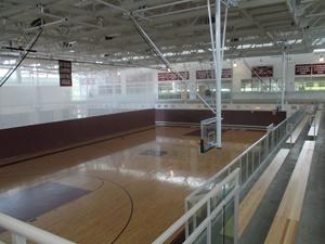 The school gymnasium