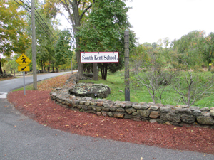 South Kent School sign