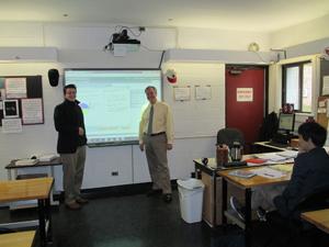 A math classroom