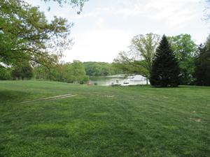 Campus pond
