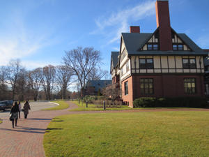 Main campus pathway