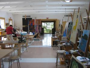 The Art classroom