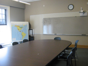 A look inside a classroom