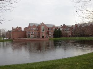 Taft School pond