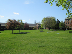 Campus view from the east