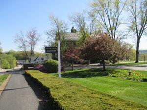 Tilton school entrance