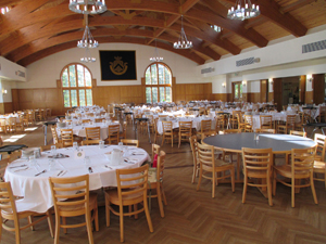The campus dining hall
