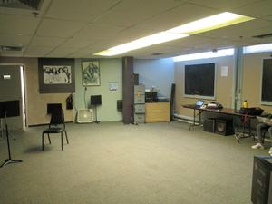 Inside the media center