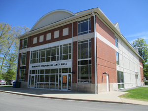 The performing arts building