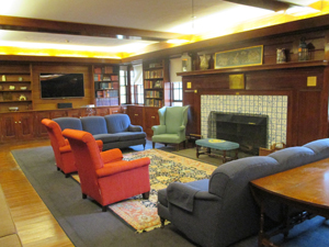 Admissions waiting area
