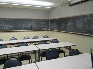 A traditional classroom