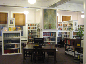 Westtown's cozy yet modern library