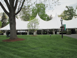 A special event tent
