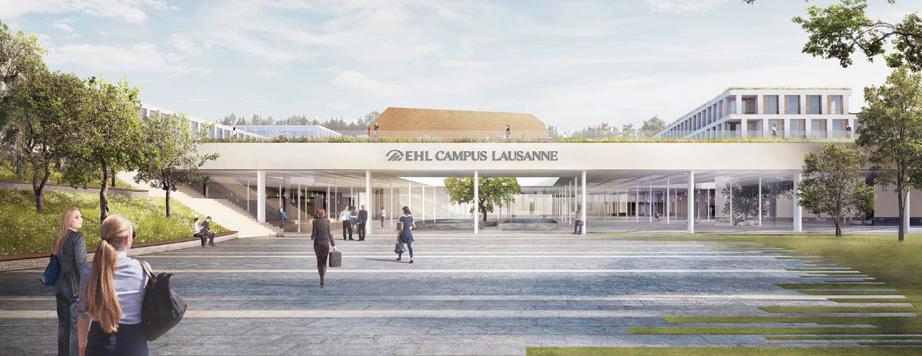 EHL University main campus entrance